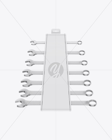 Wrench Set Mockup