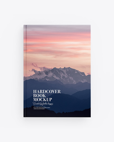 Download Hardcover Book PSD Mockup