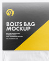 Plastic Bag With Bolts Mockup