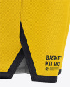 Men's Basketball Kit Mockup - Side View
