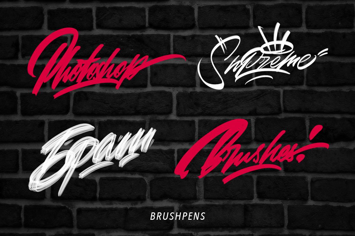 Photoshop Spray brushes