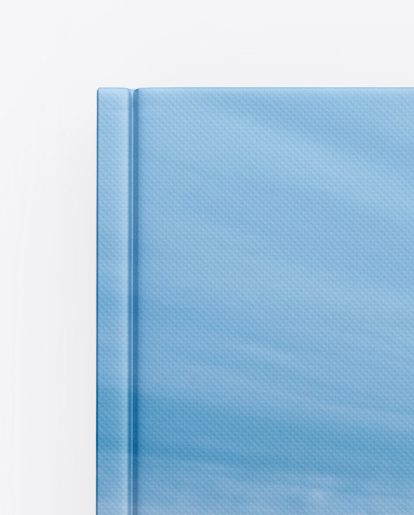 Textured Hardcover Book Mockup