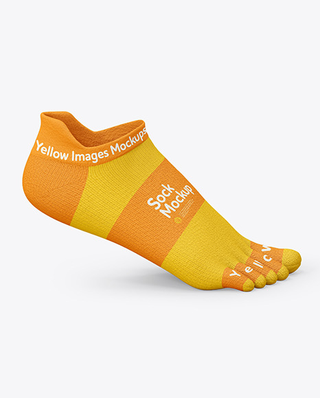 Download Short Toe Sock PSD Mockup