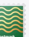 Textured Postmark Mockup