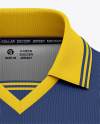 Men's Soccer /Cricket Jersey Mockup - Front View