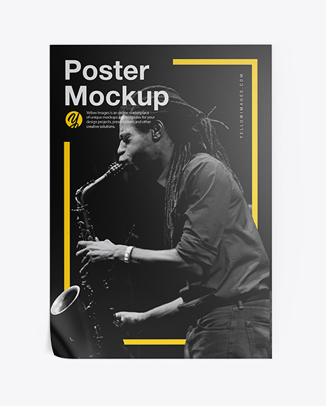 Download Poster PSD Mockup