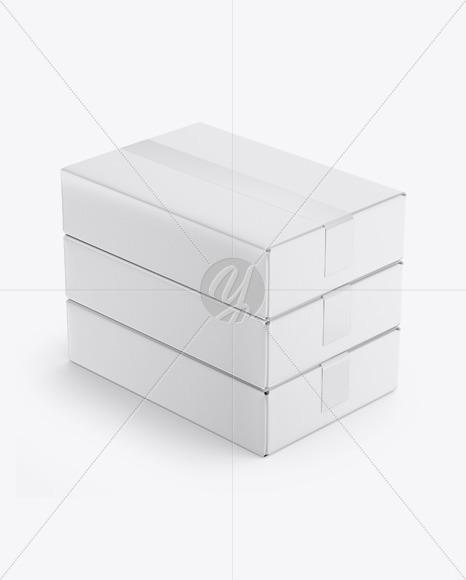 Matte Boxes Mockup