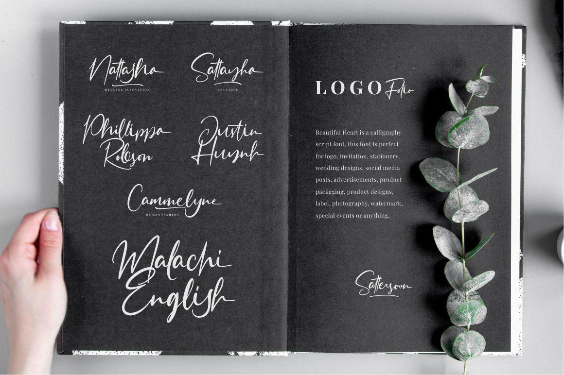 Sattersoon - Handwritten Font