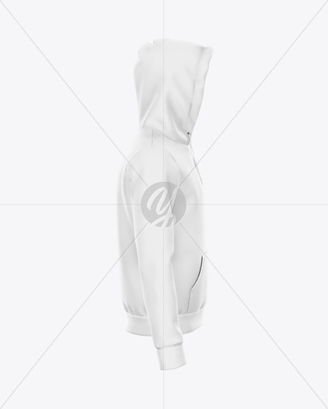 Hoodie Mockup - Right Side View