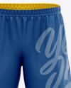 Men's Soccer Shorts Mockup - Front View