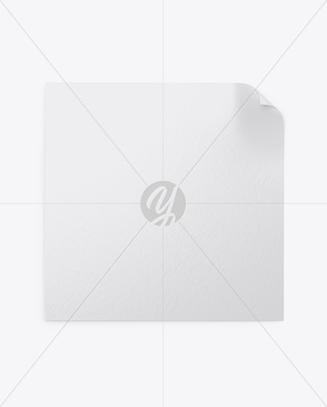 Textured Square Poster Mockup