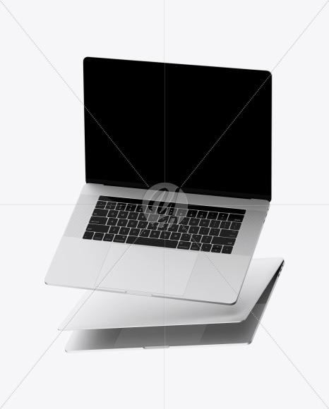 Two Macbooks Mockup