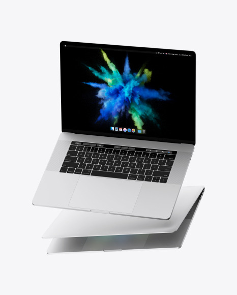 Download Two Macbooks PSD Mockup
