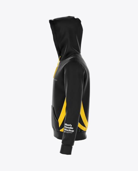 Hoodie Mockup - Left Side View