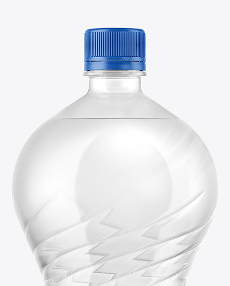 2L PET Water Bottle Mockup