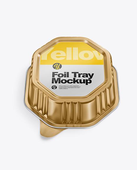 Download Foil Tray PSD Mockup