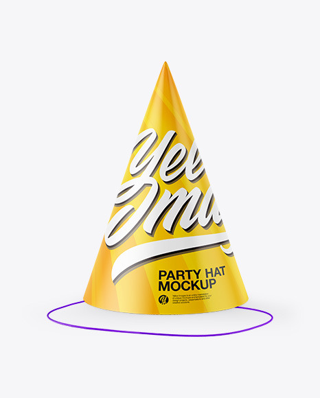 Party Hat Mockup