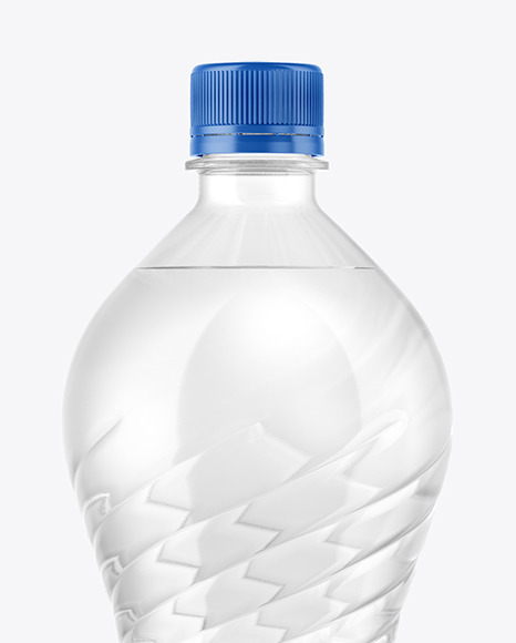 1 5l Pet Water Bottle Mockup In Bottle Mockups On Yellow Images