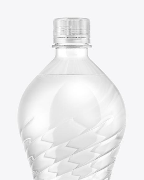 1,5L PET Water Bottle Mockup