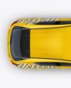Hatchback Mockup - Top View