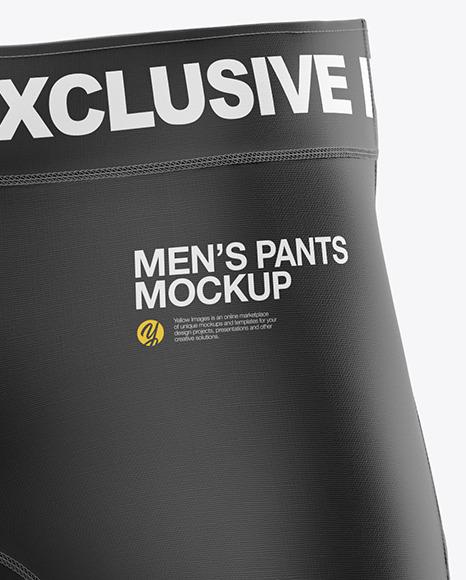 Men's Pants Mockup - Front View