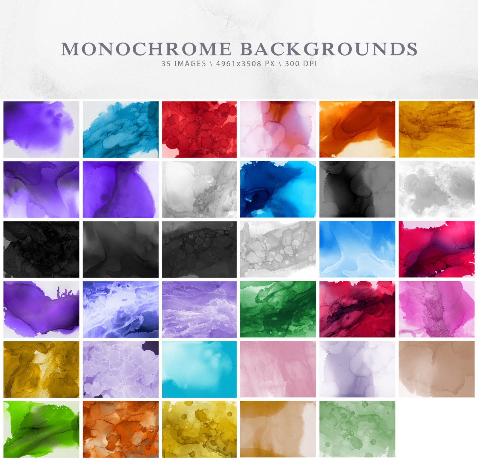 Ephemeral Ink Backgrounds