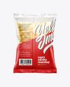Bag With Corn Sticks Mockup