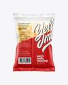 Matte Bag With Corn Balls Mockup