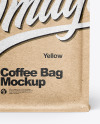 Kraft Paper Coffee Bag Mockup