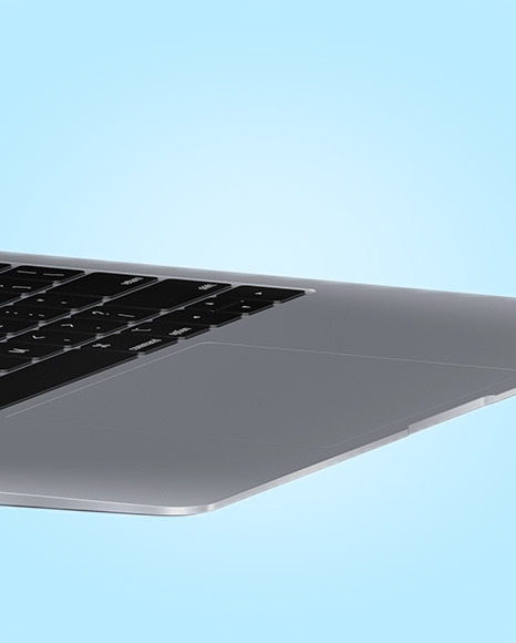 Space Gray MacBook Air Mockup
