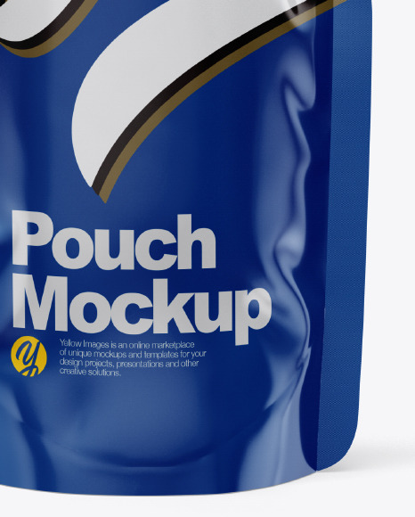 Glossy Pouch Mockup