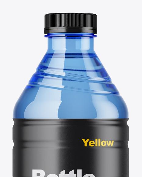 Blue Bottle Mockup