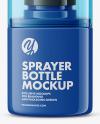 Glossy Sprayer Bottle Mockup