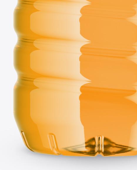 Orange Drink Bottle Mockup