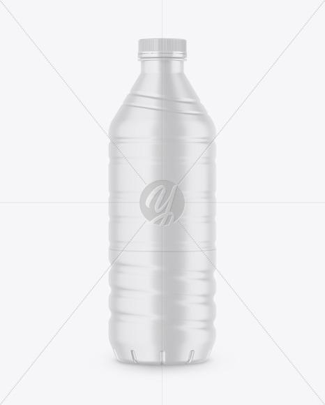 Matte Drink Bottle Mockup