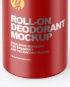 Opened Roll-on Deodorant Mockup