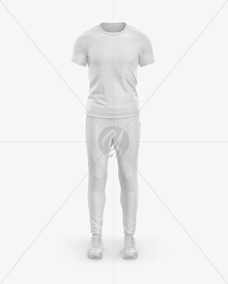 Men's Sports Kit Mockup