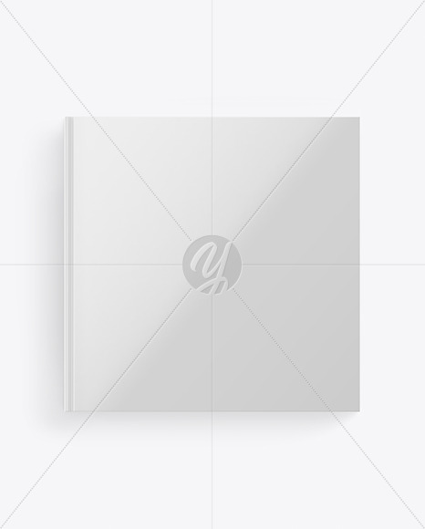 Book w/ Glossy Cover Mockup