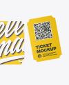Ticket Mockup