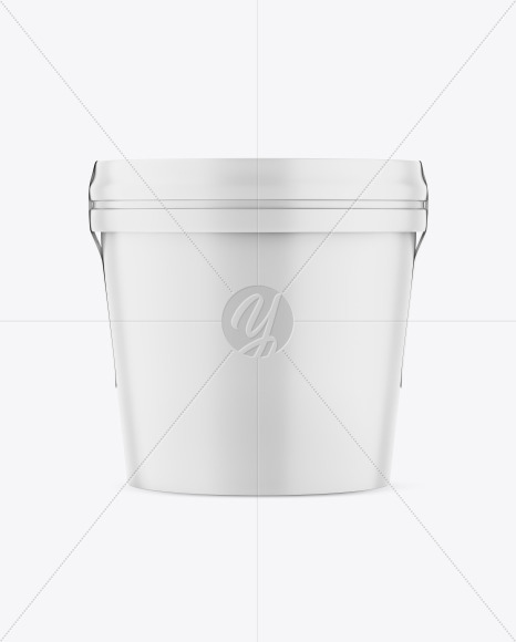 Matte Ice Cream Cup Mockup