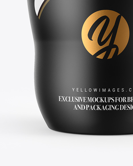 Matte Thermo Cup Mockup