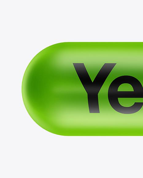 Matte Pill Mockup