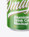350ml Matte Aluminium Can Mockup