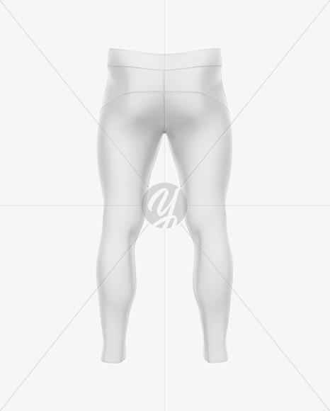 Men's Pants Mockup - Back View