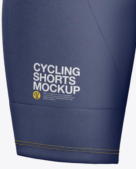 Women's Cycling Shorts Mockup
