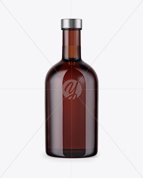 Download Amber Glass Bottle Mockup In Bottle Mockups On Yellow Images Object Mockups PSD Mockup Templates