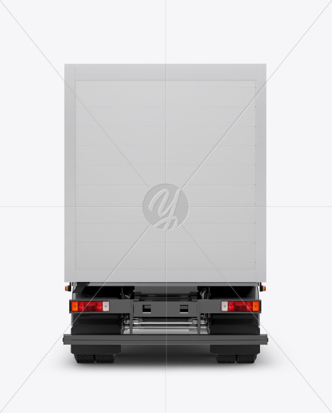 Truck Mockup - Back View