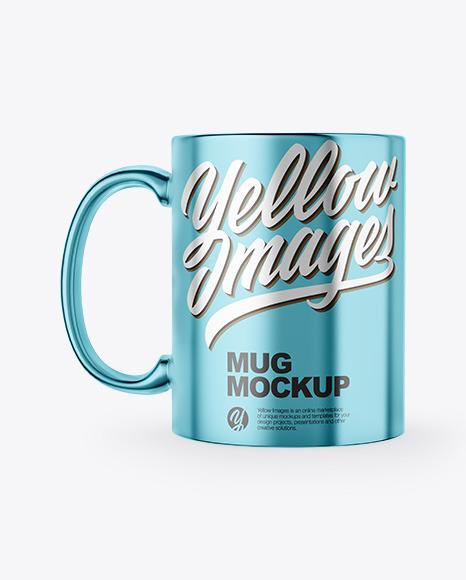 Metal Mug Mockup