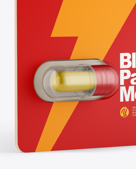 Blister Pack Mockup