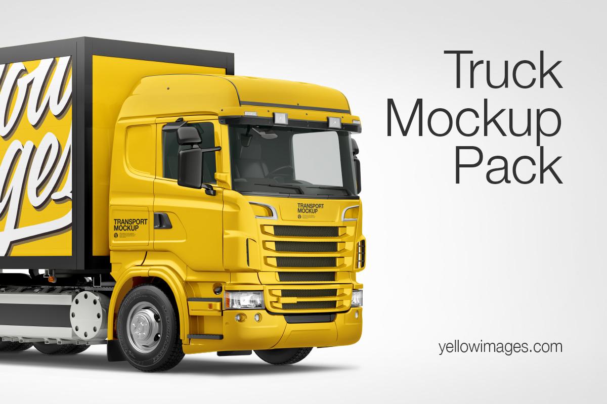 Truck Mockup Pack